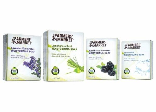 Farmers' Market - Organic Moisturizing Bar Soaps Products